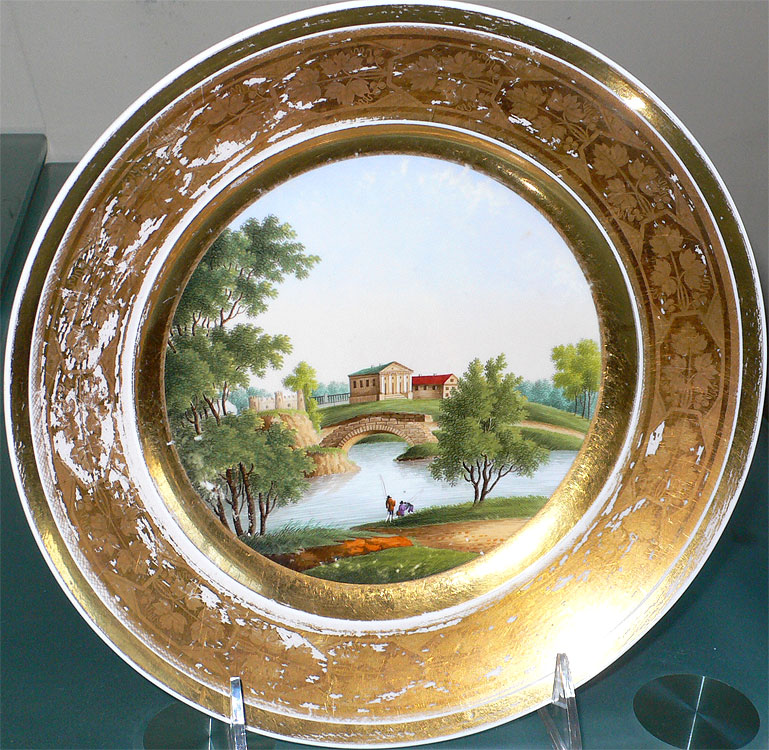 : russian decorative plates - pezcame.com
